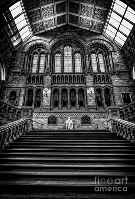 Photograph - History Museum London by Adrian Evans