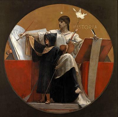 Painting - History by Nikolaos Gyzis