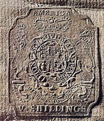 Photograph - History Of Usa: Stamp Act by Granger