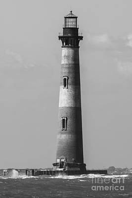 Photograph - History Stands Tall Grayscale by Jennifer White