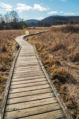 Appalachian Trail Photograph - Hit The Boards by Kristopher Schoenleber