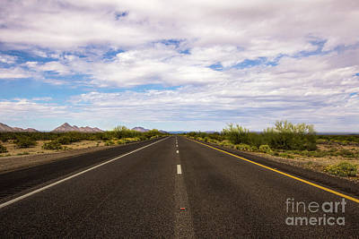 Dots And Lines Photograph - Hit The Open Road by Amy Sorvillo