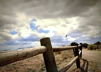 Photograph - Hitching Post by Diana Angstadt