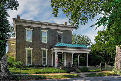 Photograph - Hite-grigsby House   -  1830hitegrigsbyhomebardstown155703 by Frank J Benz