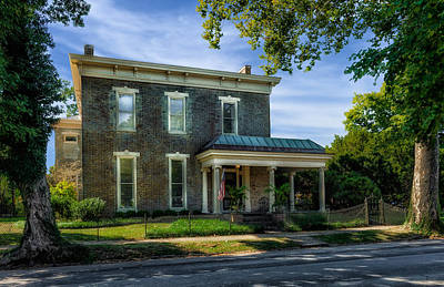 Photograph - Hite-grigsby House - Bardstown - 1830 - 1 by Frank J Benz