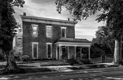 Photograph - Hite-grigsby House - Bardstown - 1830 - 2 by Frank J Benz