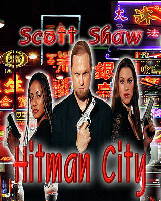 Photograph - Hitman City by The Scott Shaw Poster Gallery