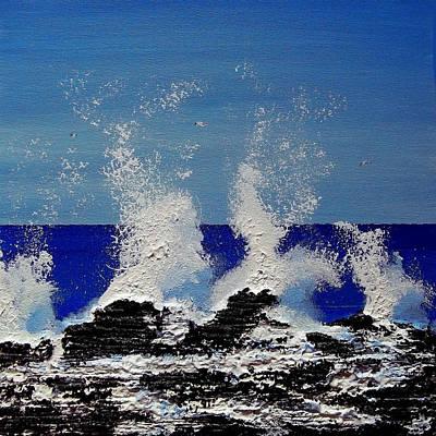 Hitting The Rocks Original by Peter Stevenson