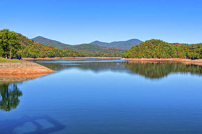 Photograph - Hiwassee Lake by John M Bailey