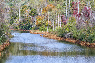 Photograph - Hiwassee River by John M Bailey