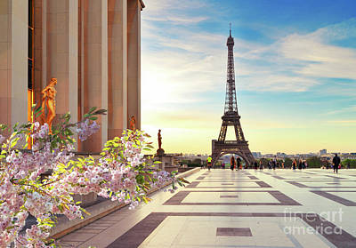 Photograph - Spring In Paris II by Anastasy Yarmolovich