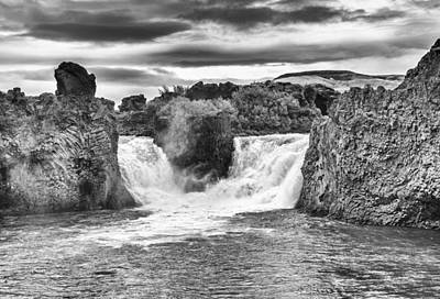 Photograph - Hjalparfoss by Thomas Schreiter