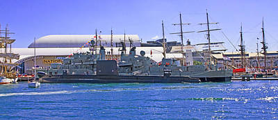 Photograph - Hmas Onslow And Hmas Vampire D11 by Miroslava Jurcik