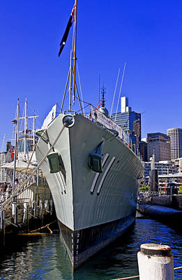 Photograph - Hmas Vampire D11 In Darling Harbour by Miroslava Jurcik