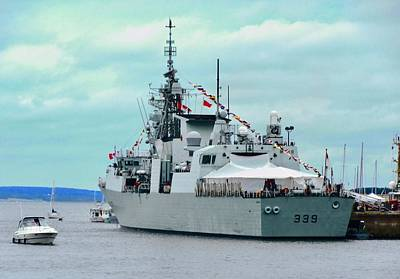 Photograph - Hmcs Charlottetown by Stephanie Moore
