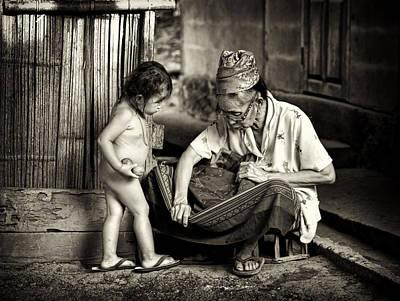Photograph - Hmong Grandma by Cameron Wood