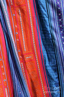 Photograph - Hmong Weaving 3 by Werner Padarin