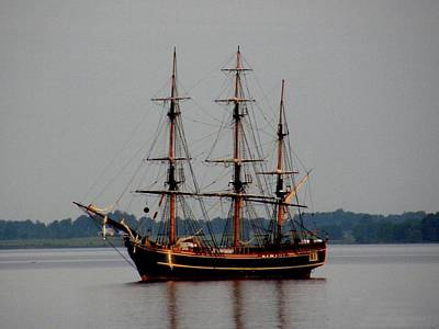 Photograph - Hms Bounty  by Dennis McCarthy