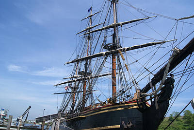 Photograph - Hms Bounty Ship At Port by Margie Avellino