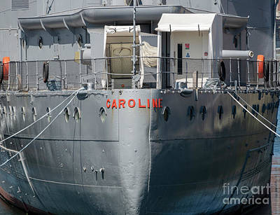Photograph - Hms Caroline by Jim Orr
