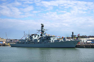 Photograph - Hms Northumberland by Chris Day