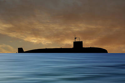 Subs Photograph - Hms Sovereign 1973 V2 by Smart Aviation