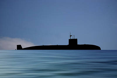 Subs Photograph - Hms Sovereign 1973 V4 by Smart Aviation