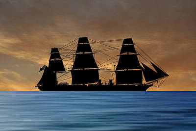 Warrior Wall Art - Photograph - Hms Warrior 1859 V2 by Smart Aviation