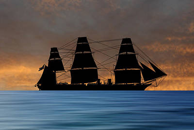Warrior Wall Art - Photograph - Hms Warrior 1859 V3 by Smart Aviation