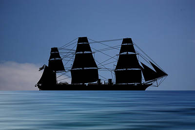 Warrior Wall Art - Photograph - Hms Warrior 1859 V4 by Smart Aviation