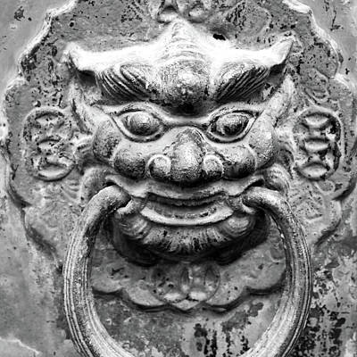 Photograph - Ho Chi Minh City Door Knocker by For Ninety One Days