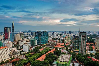 Photograph - Ho Chi Minh City by Tran Minh Quan