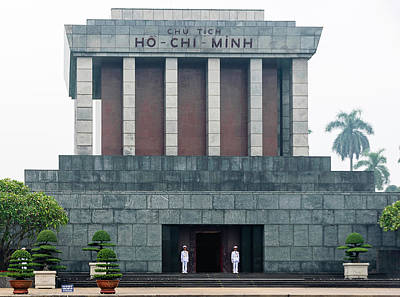 Photograph - Ho Chi Minh Mausoleum by Steven Richman