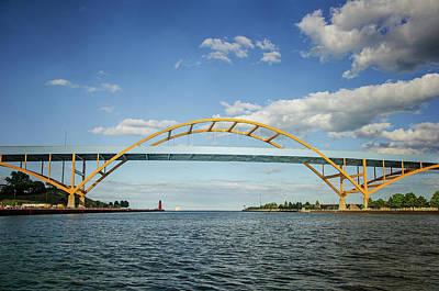 Photograph - Hoan Bridge by Susan McMenamin