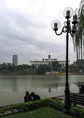 Photograph - Hoan Kiem Lake by Steven Richman