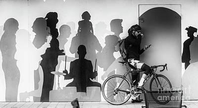 Hoarding At Christchurch Art Print