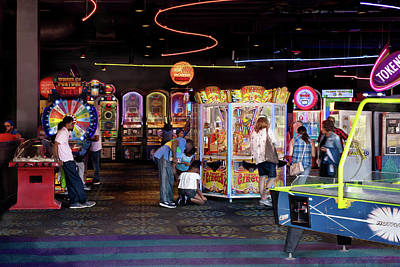 Photograph - Hobbies - The Modern Arcade by Mike Savad