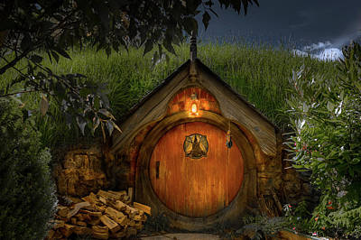 The Shire Photograph - Hobbit Dwelling by Racheal Christian