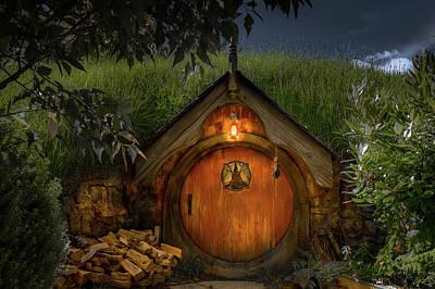 Photograph - Hobbit Dwelling by Racheal Christian