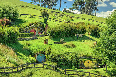 The Hobbit Wall Art - Photograph - Hobbit Hills by Racheal Christian