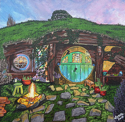 Bilbo Painting - Hobbit Hole by Sonal Poghat