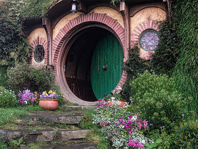 Photograph - Hobbit House by Richard Gehlbach