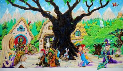 Painting - Hobbit Land by Matt Konar