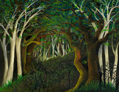 Painting - Hobbit Woods by FT McKinstry
