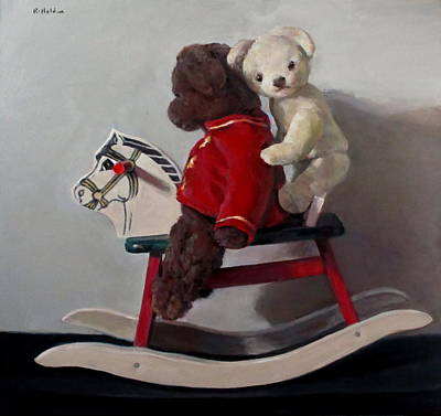 Painting - Hobby Horse by Robert Holden