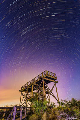 Photograph - Hobe Mountain Tower by Fran Gallogly