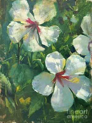 Wall Art - Painting - Hobe Sound Blossoms by Patrick Saunders