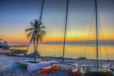 Photograph - Hobie Beach Sunrise by David Zanzinger