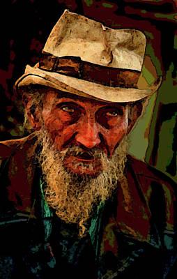 Hobo Art Painting - Hobo Life by John Lipscomb