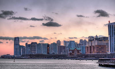 Photograph - Hoboken And Jersey City by JC Findley